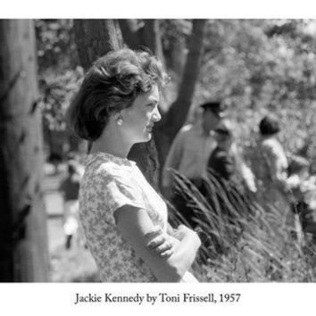 JACKIE KENNEDY by TONI FRISSELL arts poster 1957 24X36 REGAL world figure