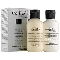 philosophy The Fresh Start Cleansing Duo