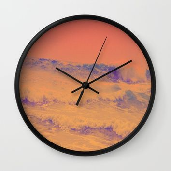 HeatWave Wall Clock by Ducky B