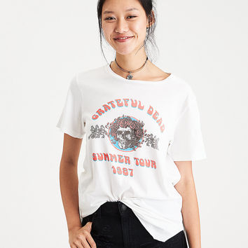 Grateful Dead Tour Graphic T-Shirt, White