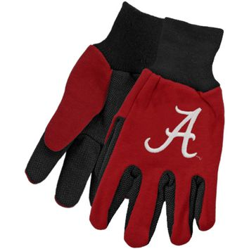 Alabama Crimson Tide - Adult Two-Tone Sport Utility Gloves