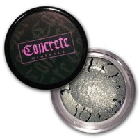 Lithium Chrome Silver Mineral Eyeshadow from Concrete Minerals