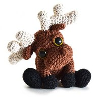 Buy Mostyn the Moose amigurumi pattern - AmigurumiPatterns.net