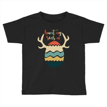 Hunting Season Retro Color 80s Style Toddler T-shirt