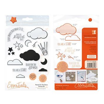 Reach for the Stars Tonic Rubber Stamp Set [1658e]