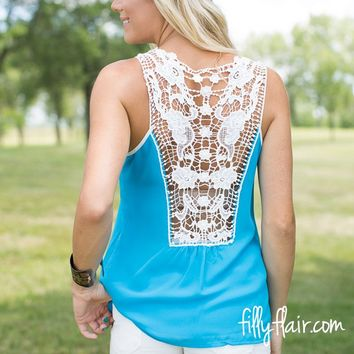 Meet at the Park Crochet Back Tank