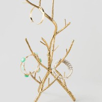 Gold Twig Jewelry Holder