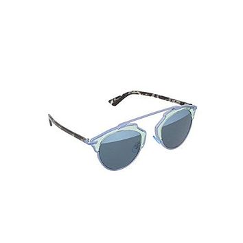 Dior KLY8N Silver So Real Aviator Sunglasses