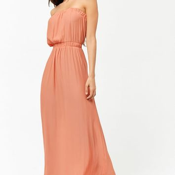 Strapless Swim Cover-Up Dress