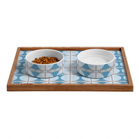 Caroline Okun Perimeter Pet Bowl and Tray