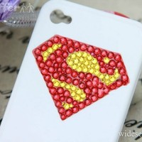 iOffer: Bling Superman Logo iPhone 4/4S Case  for sale