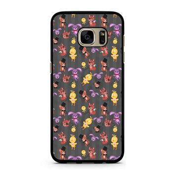 Five Nights At Freddy S Fnaf Pattern Samsung Galaxy S7 Case