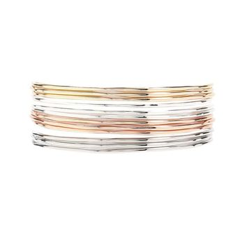 Textured Bangle Set