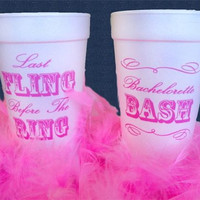 Bachelorette Party Cups - Set of 20