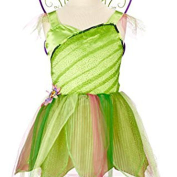 Disney Fairies Tinker Bell Floral Party Dress