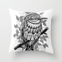 Bee Eater Throw Pillow by BioWorkZ