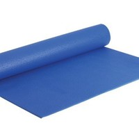 Fitness by Cathe 68-Inch by 24-Inch Yoga Mat with DVD (Blue)
