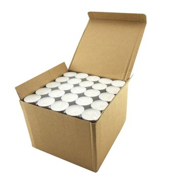 Stonebriar Tealight Candles | 6 to 7 Hour Extended Burn Time | 200 Bulk Pack