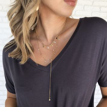 Late Night Gold Layered Necklace