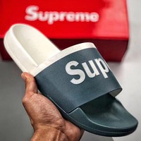 Trendsetter Supreme suprize design Men Fashion Casual Slipper Shoes