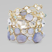 Ippolita - Clear Quartz and 18K Yellow Gold Bracelet - Saks.com