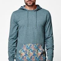 On The Byas Marty Pullover Hooded Shirt - Mens Shirt
