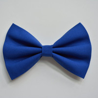 Cobalt Blue Hair Bow, Hair Bow, Hair Bows, Hairbows for girls, Hairbows for teens