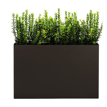 Modern Trough Planter - Bronze