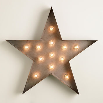 Star Marquee Light - World Market