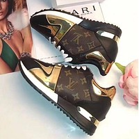lv louis vuitton trending women personality leisure sneakers shoes i