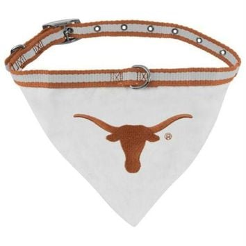 ESBONI Texas Longhorns Dog Collar Bandana