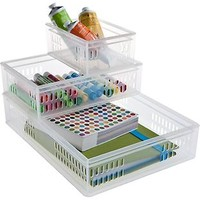 The Container Store > Stacking Organizer Trays