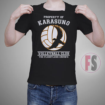 Property of Karasuno High School Volleyball Haikyuu AllukaArtTees Unisex Adult Tees