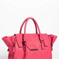 Expressions NYC Faux Leather Satchel | Nordstrom