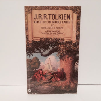 J.R.R. Tolkien: Architect of Middle Earth by Daniel Grotta-Kurska 1977 Paperback