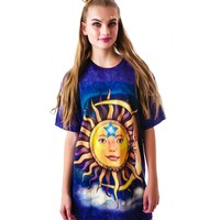 SUN N' MOON OVER DA CLOUDS TEE