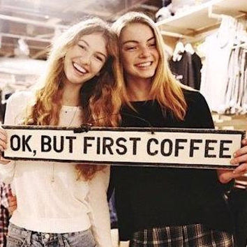 OK, But First Coffee Large