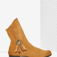 Matisse Chippewa Suede Concho Boots