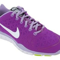 Nike Women's Free TR Fit 2.0 - Magenta / White-Voltage Wash-Liquid Lime, 6.5 B US