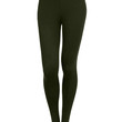Womens Stretchy Solid Leggings