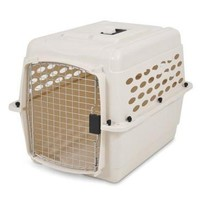 Petmate Vari Portable Fashion Travel Pet Kennel Sz: Med 28""