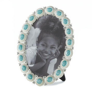 Sea Cabochon Photo Frame 5x7