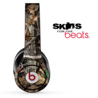 Real Woods Green Camouflage V2 Skin for the Beats by Dre Solo, Studio, Wireless, Pro or Mixr