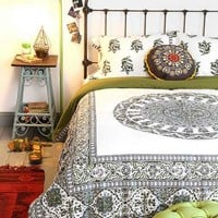 Magical Thinking Temple Medallion Duvet Cover-