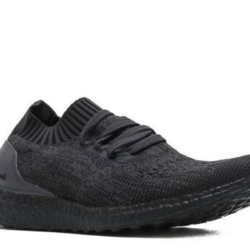 Ready Stock Adidas Ultra Boost Uncaged Triple Black Sport Running Shoes