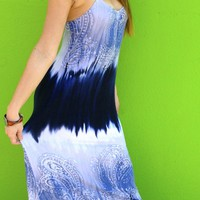 Oceans Away maxi dress