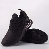 Trendsetter Nike Air Max 270 Flyknit   Fashion Casual Sneakers Sport Shoes