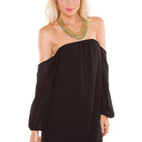 Weekend Update Dress - Black