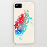 Watercolor Turtle iPhone & iPod Case by Jacqueline Maldonado