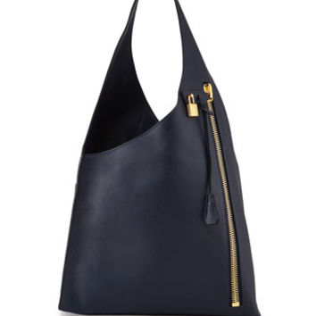 Tom Ford Alix Zip Hobo Bag